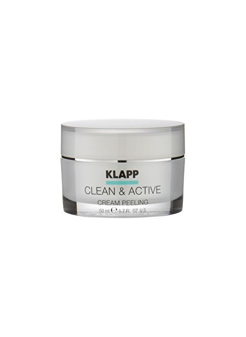 Klapp Clean&Active Cream Peeling 50 Ml Renksiz